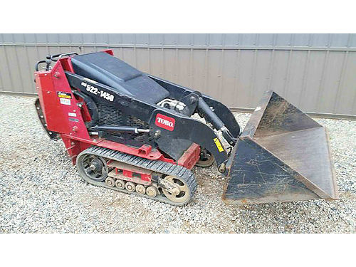 TORO Dingo TX427 24hp Kholer engine 658 hinge pin height 337 wide lifting capacity 535lb op