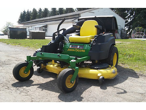 2014 JOHN DEERE Z 445 just in 54 inch cut zero turn mower Runs perfectly only 5000