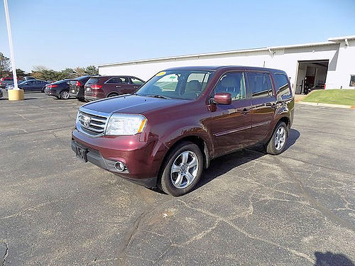 2013 HONDA Pilot EX-L J101738 one owner leather well equipped 17968