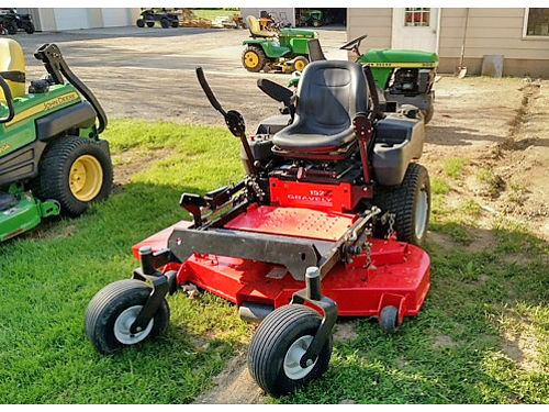 GRAVELY 152Z 52 cut 22 HP Kawasaki 2975 grossmowersalescom 810-845-0547 or