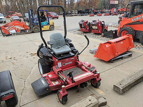 BUSH Hog ES 2052 Zero Turn Mower 20hp Kohler engine 52 fuel tank dual fuel tanks roll bar quar
