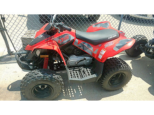 2017 CAN AM DS90 youth quad very low hours only 1997