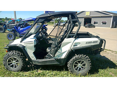2013 CAN AM COMMANDER LIMITED 1000r GPS low miles only 12995