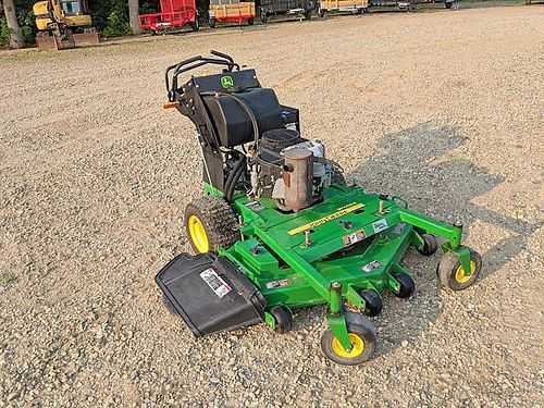 JOHN Deere WH48A Commercial Walk Behind Mower HST transmission 7mph f 3mph reverse 48 deck 290