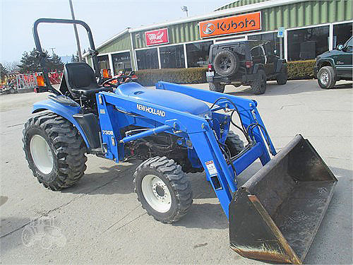 NEW Holland TC33 3 cylinder diesel loaded 14950