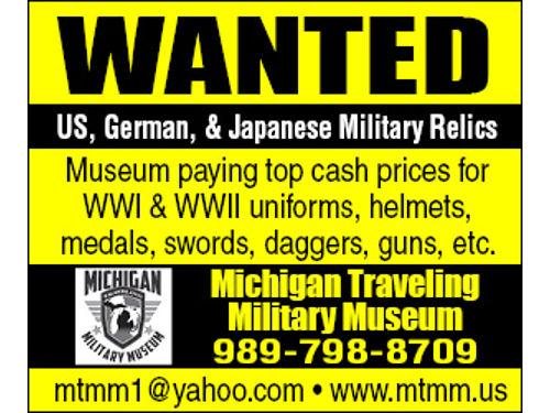 MICHIGAN TRAVELING MILITARY MUSEUM - 721 WASHINGTON AVE BAY CITY MICHIGAN 48708