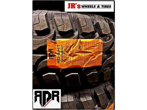 RDR RD-6 M/T 35X12.50R20LT $159.99 EACH. WHILE ...