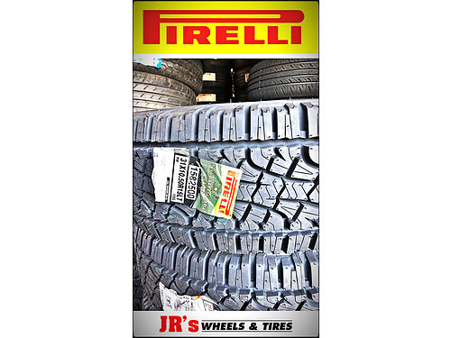 HUGE sale on Pirelli tires 31x1050R15LT Scorpion ATR 12499 each While supplies last We have a