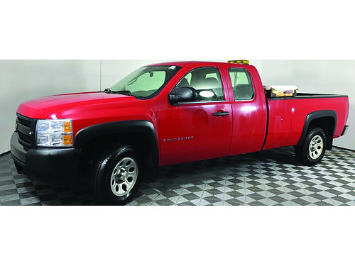 2007 CHEVROLET SILVERADO 1500 53L Vortec V8 Low Miles Steering Wheel Ctrls Aux Input Clean Clot