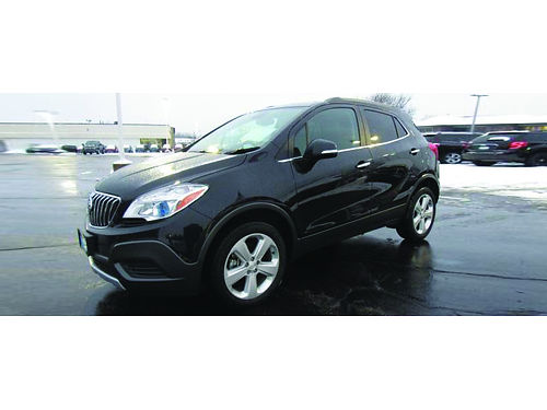 2016 BUICK ENCORE AWD GM Factory Certified 1-Owner Only 21K Miles Turbocharge