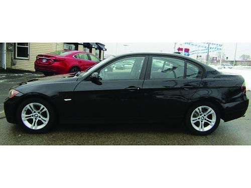 2008 BMW 328XI XDRIVE Fresh Local Trade Clean CarFax Heated Power Leather Seats Sunroof Steering