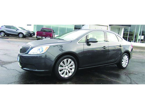 2016 BUICK VERANO Only 23K Miles GM Factory Certified 1-Owner Clean Carfax Comfort Pkg Heated P