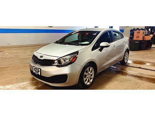 2012 KIA RIO LX Recent Arrival Outside Temp Display Remote Keyless Entry Heated Mirrors Steering
