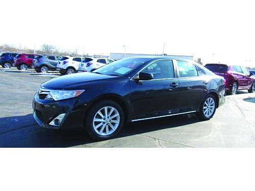 2014 TOYOTA CAMRY 1 Owner Sunroof Touchscreen Steering Wheel Audio Ctrls Pwr Driver Seat Xtra C