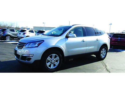 2014 CHEVROLET TRAVERSE LT 36L V6 Clean 1-Owner Carfax Heated Seats Pwr Driver Seat Steering Wh