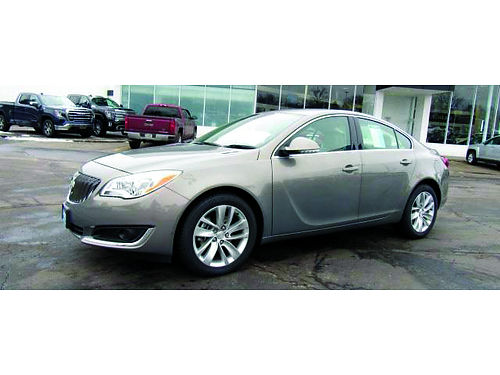 2017 BUICK REGAL PREMIUM II Turbocharged GM Factory Cert Clean 1-Owner Carfax BOSE Audio Heated