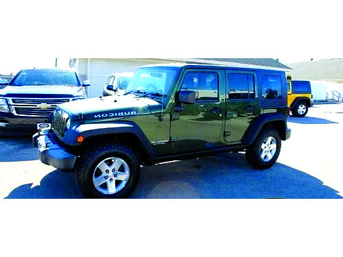2007 JEEP WRANGLER UNLIMITED RUBICON 4X4 6-Spd Manual Clean Carfax Freedom 3-