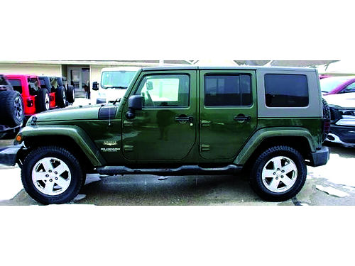 2007 JEEP WRANGLER UNLIMITED SAHARA 4WD Just 10K Miles 1 Owner  Clean Carfax