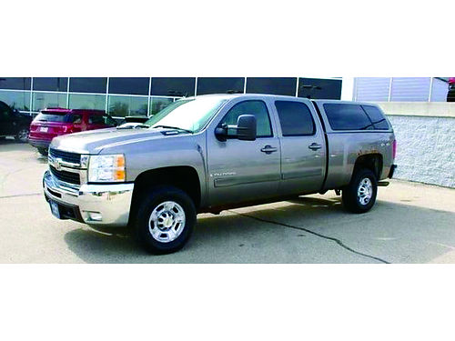 2008 CHEVROLET SILVERADO 2500 HD 4WD 60L V8 Sunroof Steering Wheel Ctrls AUX Heated Lthr Seats