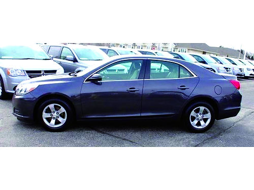2013 CHEVROLET MALIBU LS Clean 1-Owner Carfax Low Miles Pwr Driver Seat Keyless Entry Steering W