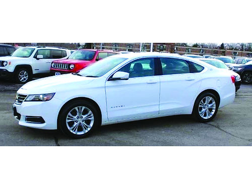 2014 CHEVROLET IMPALA LT Only 56K Miles Clean Carfax Steering Wheel Audio Ctrls Backup Cam Touch