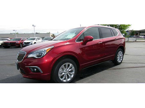 2017 BUICK ENVISION ESSENCE AWD Only 26K Miles GM Fact Cert 1 Owner Clean Car
