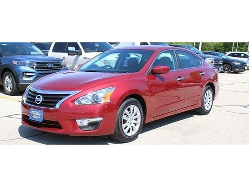 2015 NISSAN ALTIMA 25 S Only 29K Miles NEW BRAKES AND ROTORS Steering Wheel Ctrls WBluetooth AU