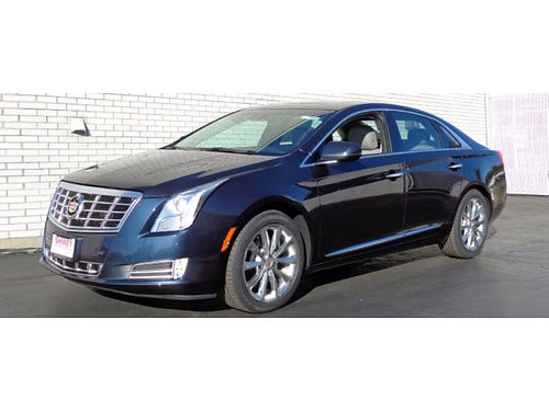 2013 CADILLAC XTS LUXURY AWD Only 69K Miles Adptve Susp BOSE Audio Dual Stnls