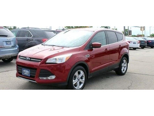 2013 FORD ESCAPE SE Clean Vehicle-History Report New Brakes  Rotors Voice-Activated SYNC Steerin