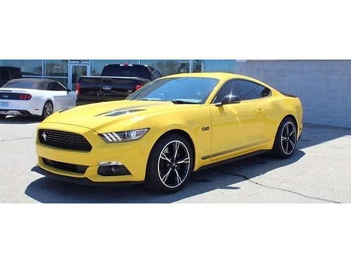 2016 FORD MUSTANG GT PREMIUM 6-Speed Manual 50L V8 Backup Cam Navi Dual Power HeatedCooled Sea