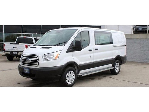 2019 FORD TRANSIT-250 CONNECT 37L V6 1 Owner Clean Carfax Swing-Out Doors Sliding Side Doors B