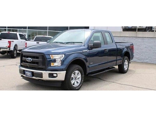 2017 FORD F-150 XL 4WD 1 Owner Twin Turbo Running Boards Steering Wheel Audio Ctrls Backup Cam