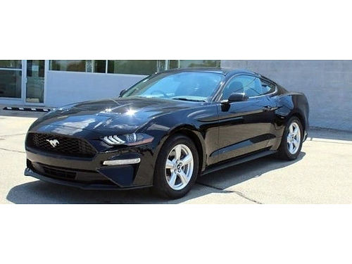 2018 FORD MUSTANG 1 Owner 6-Speed Manual Steering Wheel Audio Ctrls Bluetooth Push-Button Start