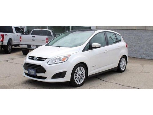2017 FORD C-MAX SE HYBRID Clean Carfax Fresh 1-Owner Trade Low Miles Panoramic Snrf Steering Whe