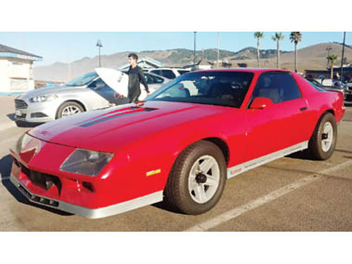 1983 CHEVY CAMARO Z28 good condition TBI Crossfire all orig owned for 17yrs Runs strong fun to