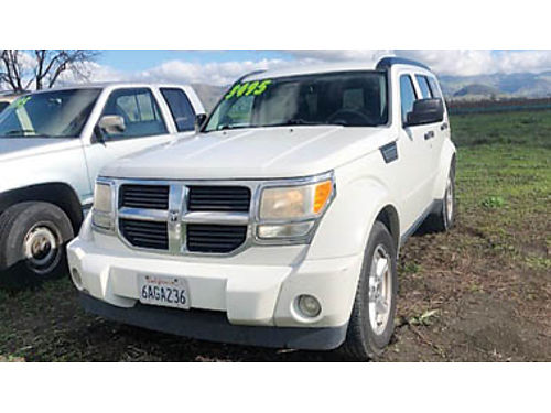 2007 DODGE NITRO in excellent condition inside and out fully loaded for 3500 Purchase supports l