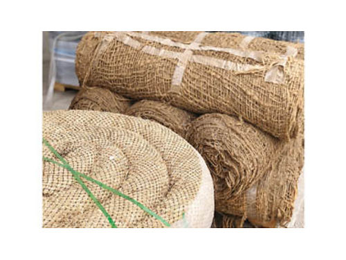 EROSION CONTROL- Straw wattles jute netting silt fence and sand bags No orde