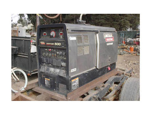 2014 LINCOLN VANTAGE 500 Welding Machine geneartor needs work only 1437 hrs 4500 obo Call no t