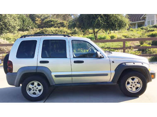 2005 JEEP LIBERTY 4WD 196000 miles 2500 obo 805-459-9403