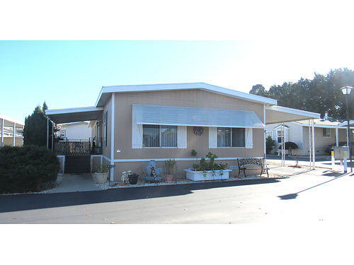 SPACE 118 1971 Dual Wide 2 bedrooms and 1  34 baths Lovely well maintained