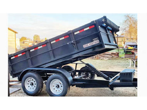 NEW 2020 6x10 Dump Trailer with 10000  ram 2-3500 axles one with brake tarp kit 4900 plus t