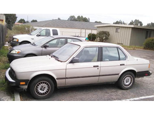 1985 BMW 325E approx 110k original miles Mechanics Special Runs needs a few things smogged in