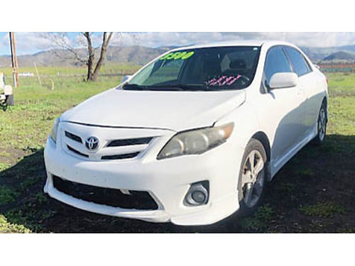 2011 TOYOTA COROLLA automatic in good condition for 3500 Purchase supports local veterans