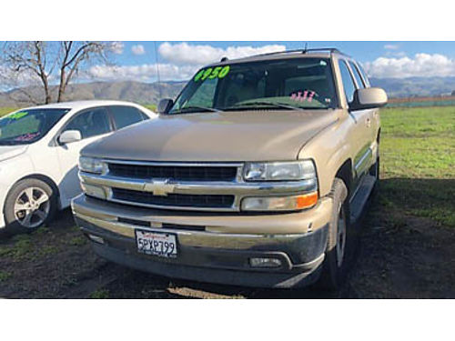 2005 CHEVY TAHOE SUV automatic very clean for 5000 Purchase supports local veterans