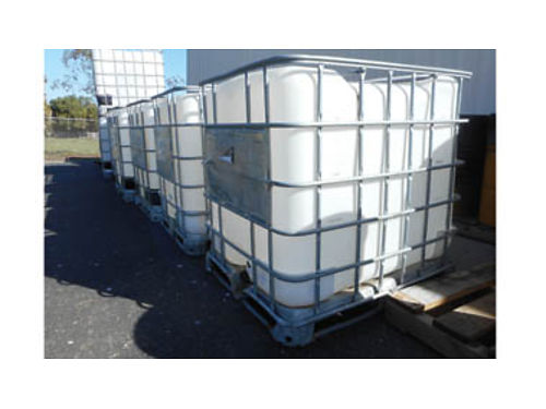 WATER TANKS, FORKLIFTABLE, $60 A PIECE. CALL ...