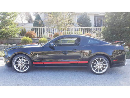 2012 SHELBY GT 500, SUPER CHARGED, NEW ...