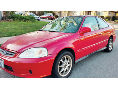 2000 HONDA CIVIC 173K miles runs well Well maintained for last 7yrs by one me