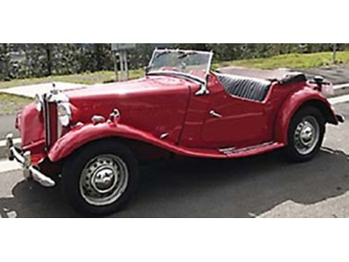 1953 MGTD, GOOD CONDITION, HAVE MAINTENANCE RECORDS, ...