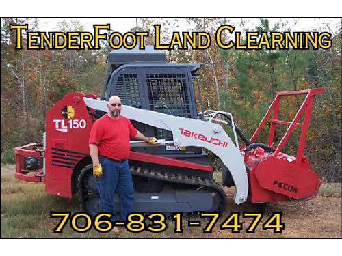 TenderFoot Land Clearing is Your All-In-One Land Management Resource Using Specialized Forestry Mul