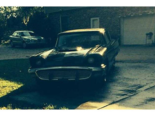 1959 FORD THUNDERBIRD 2dr hard top partially restored 7000